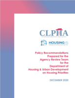 CLPHA Transition Priorities for ART final
