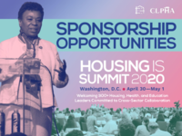 CLPHA Housing Is Summit 2020 -- Sponsorship Opportunities