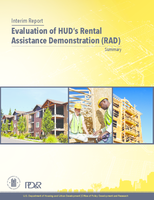 Interim Report, Evaluation of HUD's Rental Assistance Demonstration (RAD)_Summary