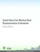 Small Area Fair Market Rent Demonstration Evaluation - Interim Report