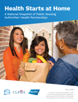 CLPHA Housing Is Initaitive - National Snapshot of PHA Health Partnerships - May 2018